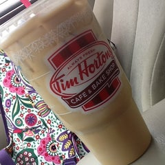 Photo taken at Tim Hortons by Emilee Y. on 9/7/2012