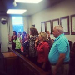 Photo taken at Bartholomew County Courthouse by Rick S. on 8/6/2012