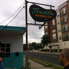 Photo taken at Franklin Barbecue by Richard V. on 5/4/2012