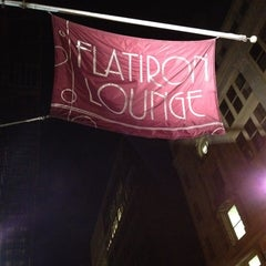 Photo taken at Flatiron Lounge by Jackson S. on 11/19/2011