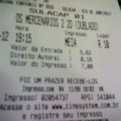 Photo taken at Cine 10 Sulacap by Rodrigo d. on 9/11/2012