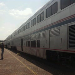 Photo taken at Temple Amtrak Station by Evan M. on 9/8/2012