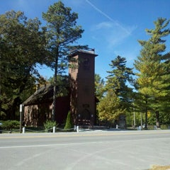 Photo taken at The Little Brown Church In The Vale by Jami D. on 10/2/2011