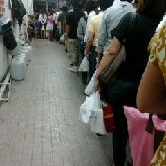 Photo taken at วินมอเตอร์ไซค์ (MRT สุทธิสาร) by Bungkee B. on 5/21/2012