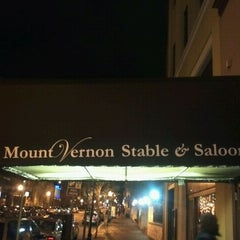 Photo taken at Mount Vernon Stable & Saloon by Caesar F. on 12/1/2011