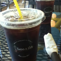 Photo taken at Crepes A Latte The Cafe by Young Ji Y. on 7/16/2012