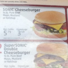 Photo taken at SONIC Drive In by April T. on 5/14/2012