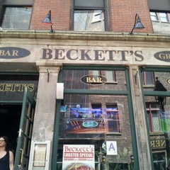 Photo taken at Beckett's Bar & Grill by John G. on 5/13/2012
