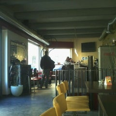 Photo taken at Podolee café-bar by Jiri A. on 10/15/2011