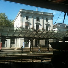 Photo taken at Bahnhof Zürich Stadelhofen by Adela F. on 8/28/2012