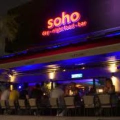 Photo taken at Soho Bar by Gioia-Xara K. on 4/12/2012