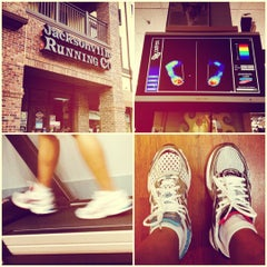 Photo taken at Jacksonville Running Company by Corinna H. on 7/29/2012