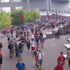 Photo taken at University of Cincinnati by Rob D. on 8/27/2012