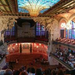 Foto tomada en Palau de la Música Catalana por TravelThirst /. el 5/9/2012