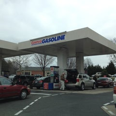 Photo taken at Costco Gasoline by Justin K. on 2/11/2012