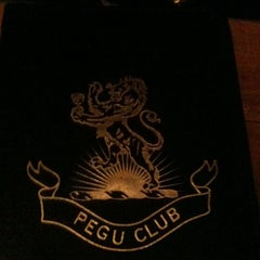 Photo taken at Pegu Club by Johnny L. on 4/2/2012