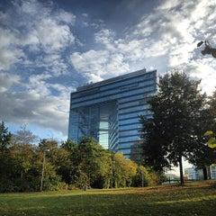 Photo taken at Rheinturm Park by Andrei M. on 9/12/2012