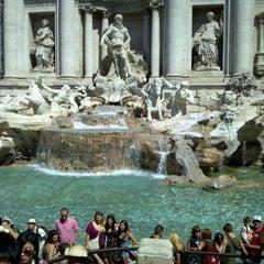 Photo taken at Piazza di Trevi by Zachariah B. on 7/27/2012