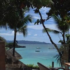 Photo taken at Shangri-La Boracay Resort and Spa by Ajdina K. on 2/28/2012