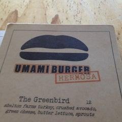 Photo taken at Umami Burger by Rose P. on 7/21/2012