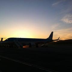 Photo taken at Kristiansand Lufthavn, Kjevik (KRS) by Emile N. on 5/2/2012