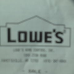 Photo taken at Lowe's Home Improvement by Jared I G. on 6/5/2012