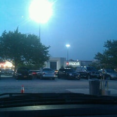 Photo taken at Megabus Bus Stop - South Side White Marsh Mall by Dana S. on 8/23/2012