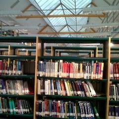 Photo taken at Biblioteca Francisco De Vitoria by Criss M. on 2/2/2012