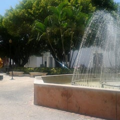 Photo taken at Parque De Bombas by Ramón I. on 8/14/2012