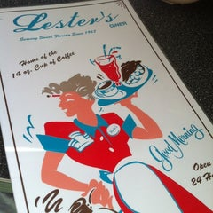 Photo taken at Lester's Diner by Claudia d. on 5/19/2012