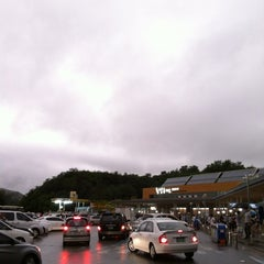 Photo taken at 횡성휴게소 (Hoengseong Service Area) by bbo k. on 8/15/2012