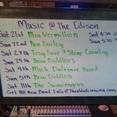 Photo taken at Old Edison Inn by Ryan S. on 7/22/2012