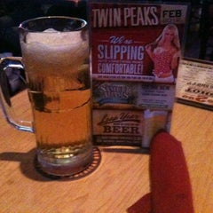 Photo taken at Twin Peaks Restaurant by Arc A. on 2/9/2012