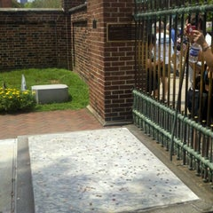 Photo taken at Benjamin Franklin's Grave by Jim R. on 8/4/2012