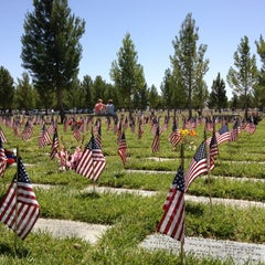 Photo taken at Southern Nevada Veterans Memorial Cemetery by Scott K. on 5/28/2012