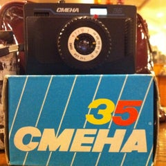 Photo taken at Lomography Gallery Store Santa Monica by Alinochka S. on 2/19/2012