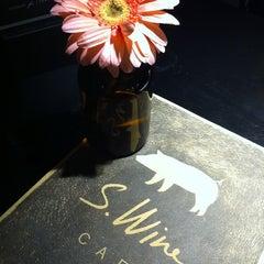 Photo taken at S.Wine by Joshua K. on 6/1/2012