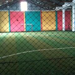 Photo taken at Super futsal pekanbaru by Arinda A. on 7/16/2011