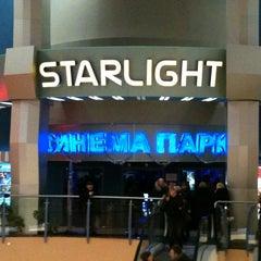 Photo taken at Синема Парк «Starlight» by Marat S. on 1/7/2011