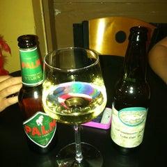 Photo taken at V-NO Wine Bar by Yvonne G. on 10/16/2011