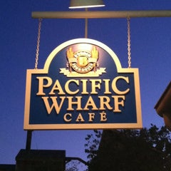 Photo taken at Pacific Wharf Café by Patrick B. on 6/25/2012