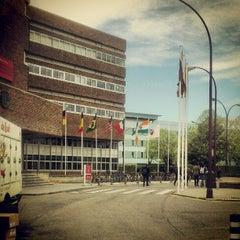 Photo taken at Medicina - Universidad de Navarra by Aitor G. on 4/25/2012
