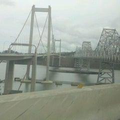 Photo taken at Carquinez Bridge by D B. on 3/17/2012