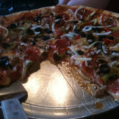 Photo taken at Capriccio Pizza by Patrick K. on 8/4/2012