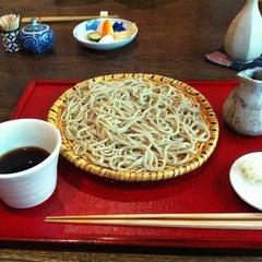 Photo taken at 手打そば くりはら by Yuko T. on 8/26/2012