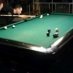 Photo taken at Galaxy Billiards Cafe by Greg G. on 9/24/2011