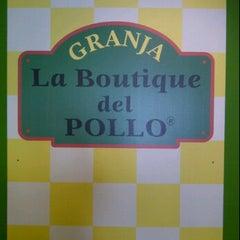 Photo taken at Granja La Boutique del Pollo by Alejandro S. on 10/28/2011