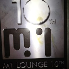 Photo taken at M1 Lounge by Guven K. on 9/12/2012
