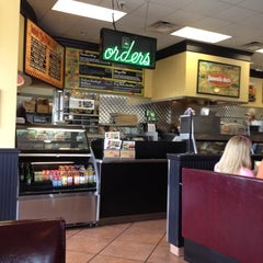 Photo taken at Jason's Deli by Medina C. on 4/29/2012