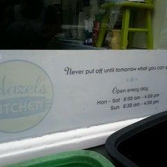 Photo taken at Hazel's Kitchen by Clayton P. on 9/25/2011